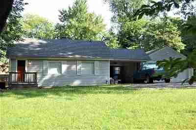 Paducah KY Single Family Home For Sale: $79,000