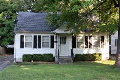 Paducah KY Single Family Home Contract Recd - See Rmrks: $64,000