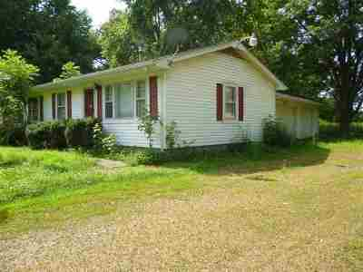 Paducah Single Family Home For Sale: 6620 Cairo Rd
