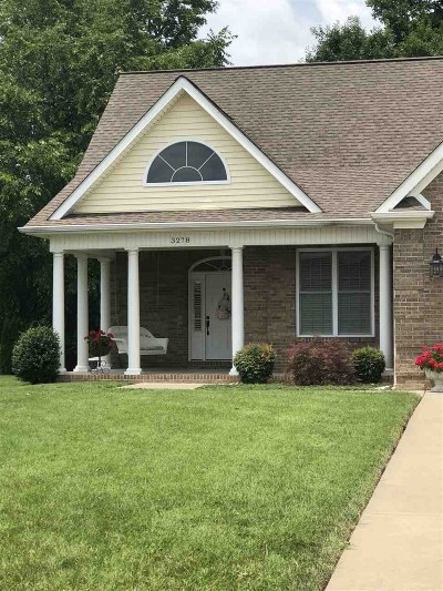 Paducah Single Family Home For Sale: 3278 Sandpiper Circle