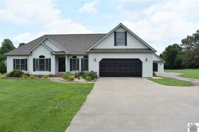 Benton KY Single Family Home For Sale: $309,900