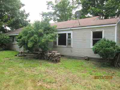 Cadiz KY Single Family Home For Sale: $40,900