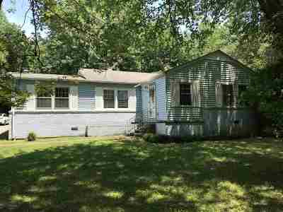Paducah Single Family Home For Sale: 4839 Exall Lane