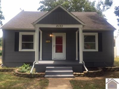 McCracken County Single Family Home For Sale: 2133 Monroe Street