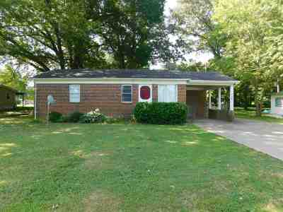 Calloway County, Marshall County Single Family Home For Sale: 203 Center Street