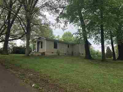 Calloway County, Marshall County Single Family Home For Sale: 633 Mayfield Highway
