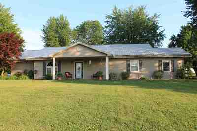 Eddyville Single Family Home For Sale: 3570 Us Hwy 62 East