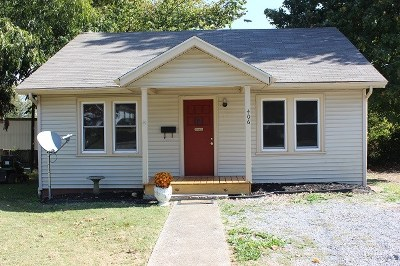 Calloway County, Marshall County Single Family Home Contract Recd - See Rmrks: 406 N 5th
