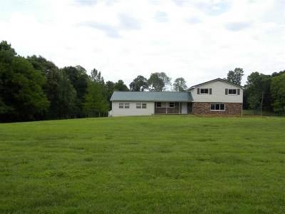Benton Single Family Home For Sale: 4717 Oak Level Road