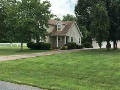 Calvert City Single Family Home For Sale: 132 Jacey Blake Dr.