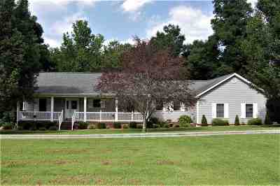 Paducah Single Family Home For Sale: 3835 Slater Road