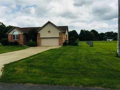 Calvert City Single Family Home For Sale: 92 Jacey Blake Dr