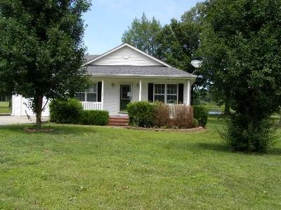 Benton Single Family Home Contract Recd - See Rmrks: 1297 Robinwood Drive
