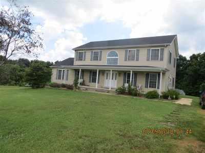 Fancy Farm Single Family Home For Sale: 1100 Rocky Road