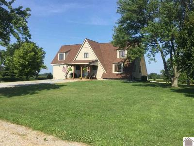 McCracken County Single Family Home Contract Recd - See Rmrks: 10540 Old Us Hwy 60 W