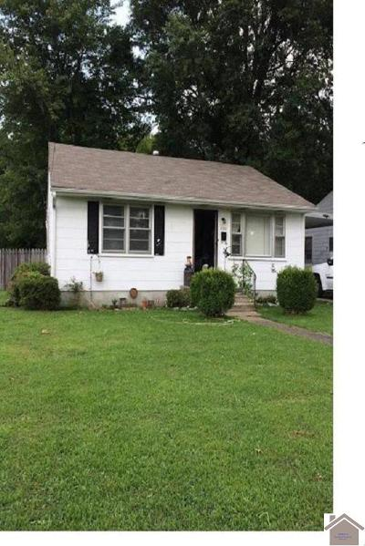 Paducah Single Family Home Contract Recd - See Rmrks: 2943 Adams St