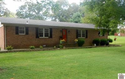 Cadiz KY Single Family Home For Sale: $135,000