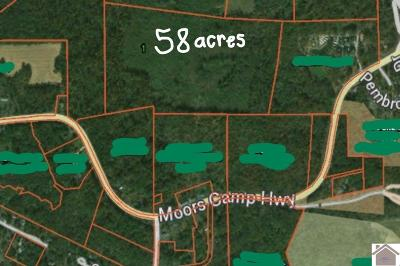 Gilbertsville Farm For Sale: Moors Camp Hwy