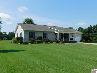 Calloway County Single Family Home Contract Recd - See Rmrks: 2181 Beach Road