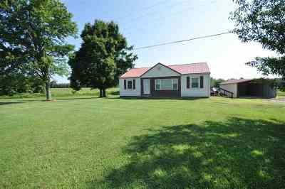 Benton Single Family Home Contract Recd - See Rmrks: 3334 Symsonia Highway