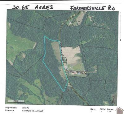 Caldwell County Residential Lots & Land For Sale: Farmersville Road