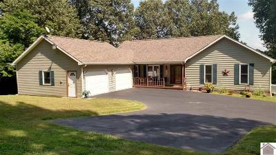 Eddyville Single Family Home For Sale: 2009 Indian Hills Trail