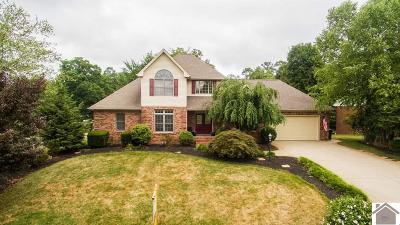Paducah Single Family Home For Sale: 6 Barrington Circle