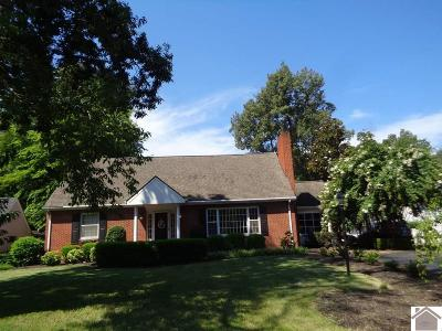 Paducah Single Family Home Contract Recd - See Rmrks: 121 Ridgewood Ave