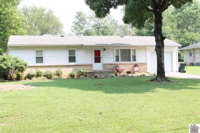 Calvert City Single Family Home Contract Recd - See Rmrks: 643 Cedar St