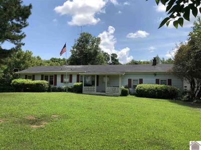 Murray Single Family Home For Sale: 2681 Irvin Cobb Rd