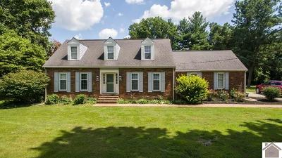 Ballard County Single Family Home For Sale: 572 County Farm Rd