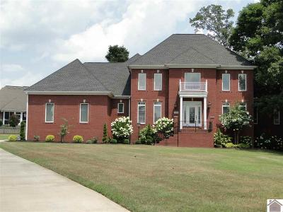 Paducah Single Family Home For Sale: 250 High Pointe Drive