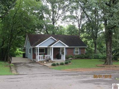 Lyon County, Trigg County Single Family Home For Sale: 153 Nunn Blvd