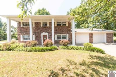 Paducah Single Family Home For Sale: 2803 Oaks Rd