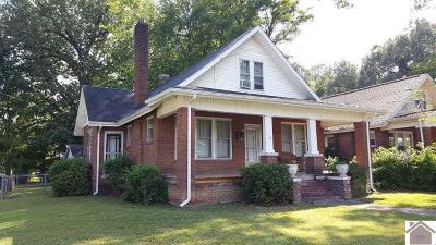 Paducah Single Family Home Contract Recd - See Rmrks: 631 Wheeler