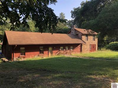 Paducah Single Family Home Contract Recd - See Rmrks: 290 Alben Barkley Dr