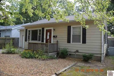 Mayfield Single Family Home Contract Recd - See Rmrks: 1217 S 8th