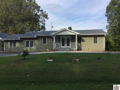 Cadiz KY Single Family Home For Sale: $188,500