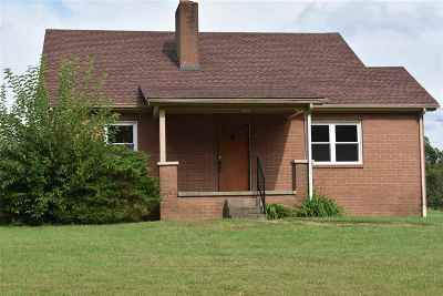 Calvert City KY Single Family Home For Sale: $89,950