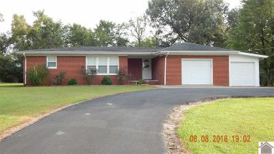 Graves County Single Family Home Contract Recd - See Rmrks: 1199 E St Rt 348