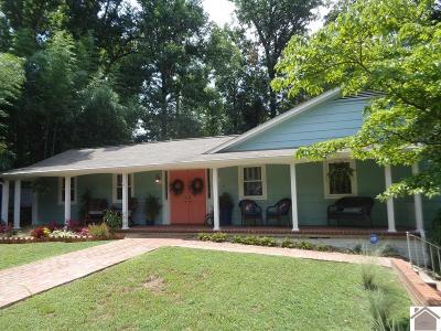 Paducah Single Family Home For Sale: 123 Hilldale