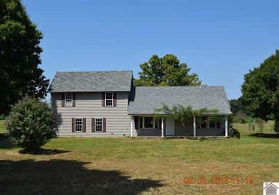 Calloway County, Marshall County Single Family Home For Sale: 1405 Peach Orchard Road