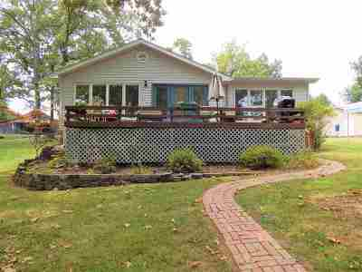 Benton Single Family Home For Sale: 628 Lake Drive