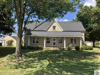 Calloway County, Marshall County Single Family Home Contract Recd - See Rmrks: 1268 Palmer Road