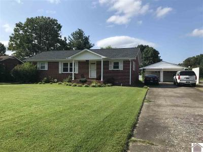 Cadiz KY Single Family Home For Sale: $119,000