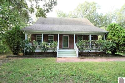 Paducah Single Family Home For Sale: 1960 Clarkline Road