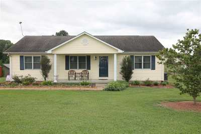 Eddyville KY Single Family Home For Sale: $134,900