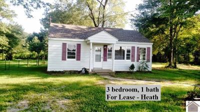 McCracken County Rental For Rent: 9910 Woodville Road