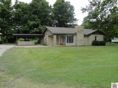 Graves County Single Family Home For Sale: 321 W State Route 348 W