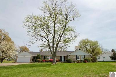 Paducah Single Family Home For Sale: 2570 Olivet Church